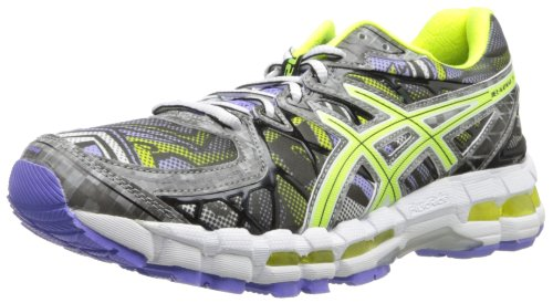 asics gel kayano 20 digital/flash yellow/periwinkle