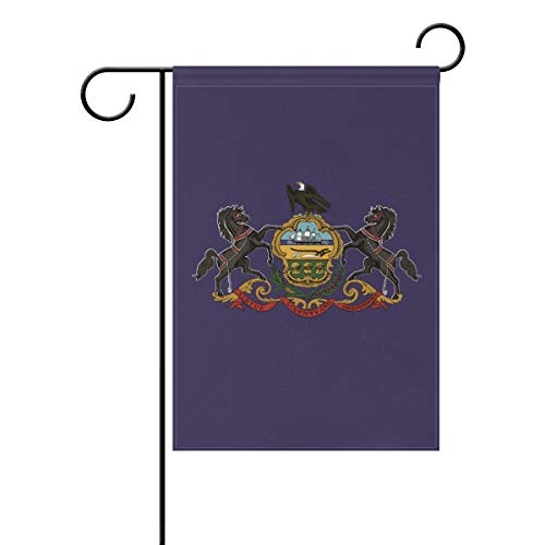 - Anyangquji Double Sided Garden Flag Pennsylvania State Flag Yard Outdoor Decorative