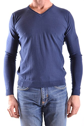 Fred Mello Men's MCBI380008O Blue Cotton