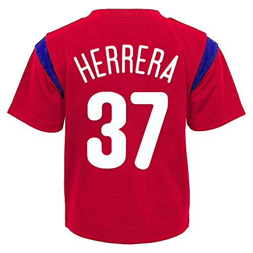 (Outerstuff MLB Toddler 2T-4T Team Player Name and Number Jersey T-Shirt (3T, Odubel Herrera Philadelphia Phillies))