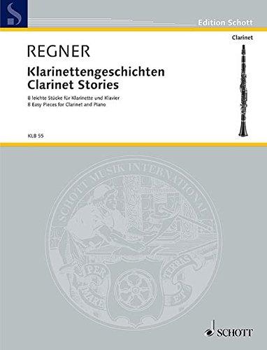 klarinettengeschichten-8-leichte-stcke-klarinette-b-und-klavier-edition-schott