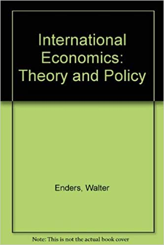 Theory and Policy International Economics