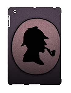 Awesome NRsfncf1340Dbrbr Podiumjiwrp Defender Tpu Hard Case Cover For Ipad 2/3/4- Sherlock Holmes