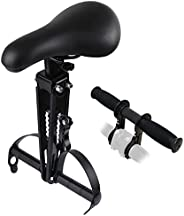 Kids Bike Seat for Mountain Bikes, Front-Mounted Bicycle Seat for Children Aged 2-6, with Handle Attachment, C