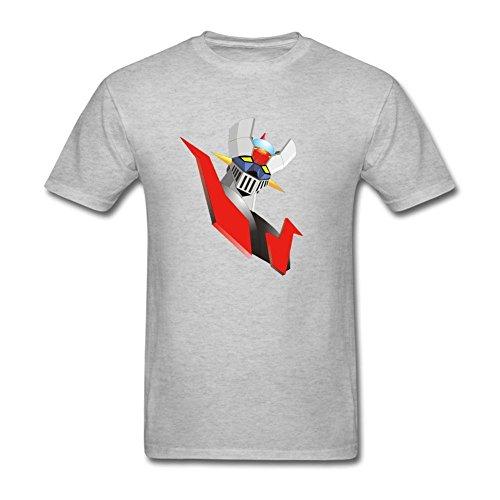 Men's Mazinger Z DIY Cotton Short Sleeve T Shirt