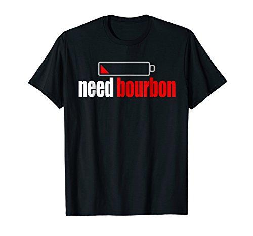 Funny Bourbon T-shirt for Whiskey Drinker Neat Shot Mash
