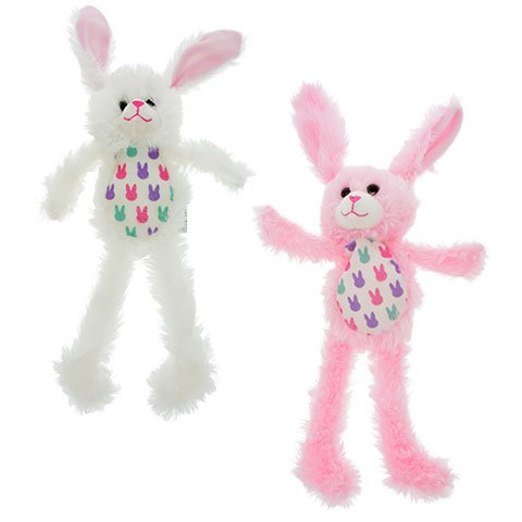 Bunny Brown Easter (Greenbrier Long Limb Easter Bunnies, Blue/Pink/White/Brown, Set of 4)