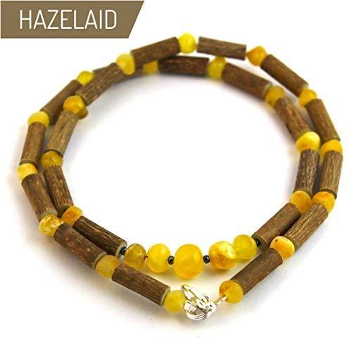 Adult Hazelwood-Gemstone Necklace TM Hazelaid 18 Rose Quartz