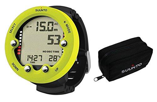Suunto Zoop Novo Dive Computer Wrist Watch W/Soft Pouch