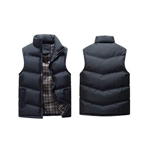 D'hiver Manteau Hommes Fuweiencore Hommes Xxxxl 5 Coton Chaud Duvet 4 Taille coloré Et Manches En Ample De Pour Sans Gilet Grande 77HWqn5rB