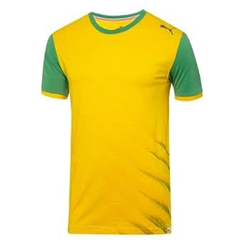 Men`s Pitch Brazil Tee Team Yellow
