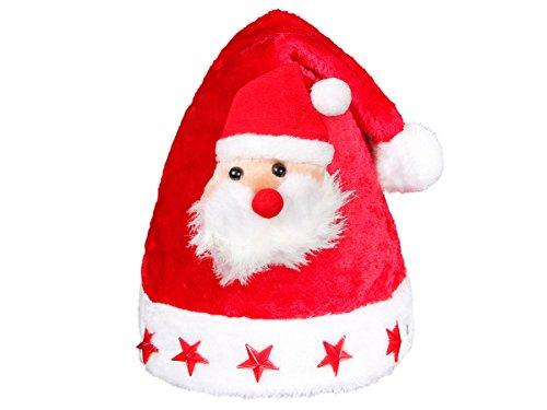 Étoiles Classe Lux Avec Led Tête Bonnet Alsino off Bouton 5 On À 46a Père Péluche Très De Noel Et Clignotante Du Adulte Noël Wm Lumineux Pour Baxq8URB