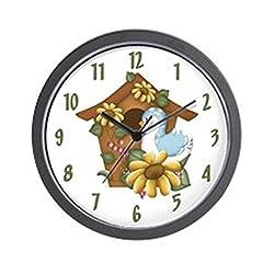 CafePress - Birdhouse - Unique Decorative 10 Wall Clock
