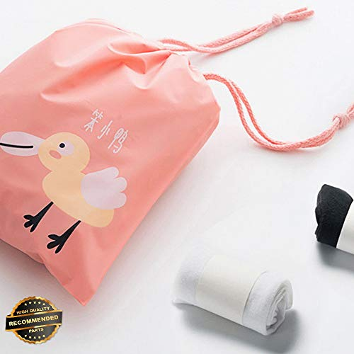 Gatton Waterproof Laundry Drawstring Travel Bag Pouch Portable Tote Storage Case | Style TRVIHR-11292123