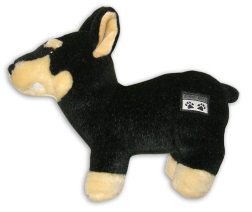 Snoop Dogg Pets Plush Doberman Dog Toy with Sound Chip For Sale