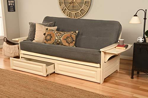 Kodiak Furniture Futon Mattress, Full, White