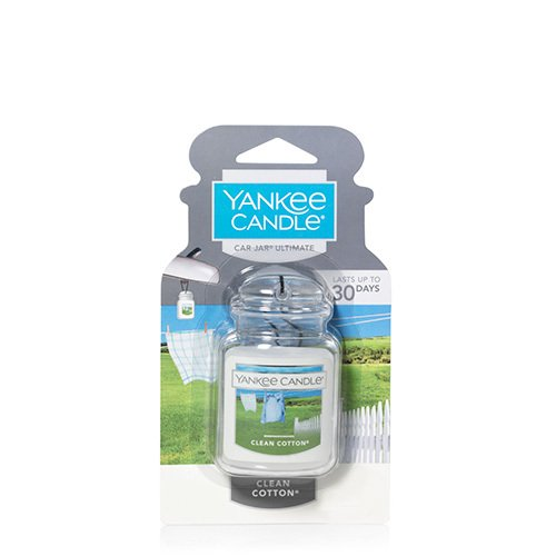 Yankee Candle Car Jar Ultimate, Clean Cotton (Gift Baskets Yankee Candle)