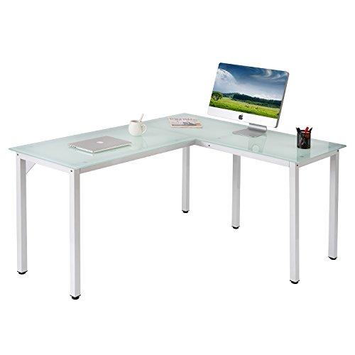 ModernLuxe WF036969KAA L-Shape Home Office Corner Computer Desk ()