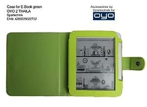 Spartechnik - Funda para e-reader Thalia OYO 2, Bol y Medion Life P6212 MD 98900, color verde