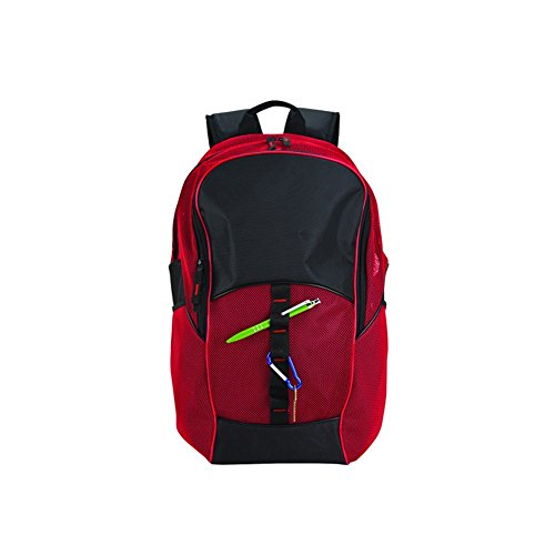 GOODHOPE Bags Travelwell Mesh Tablet Computer Backpack, Red