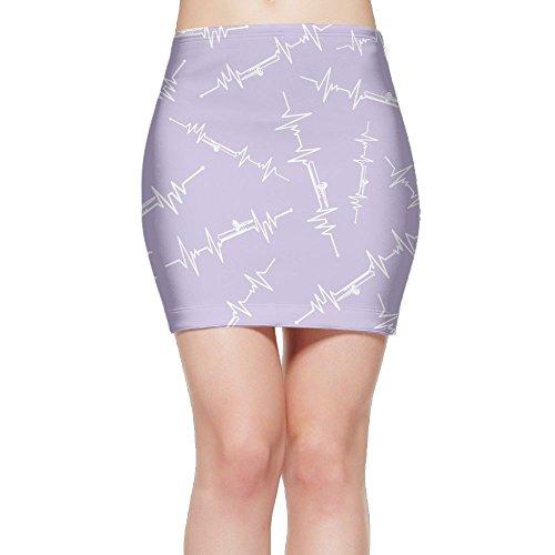 SKIRTS WWE Small-Heartbeat Women Slim Fit High Waist Mini Short Skirts by SKIRTS WWE