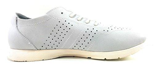 NICOBOCO Zapatillas Hombre Piel Tipo Zapato Azul
