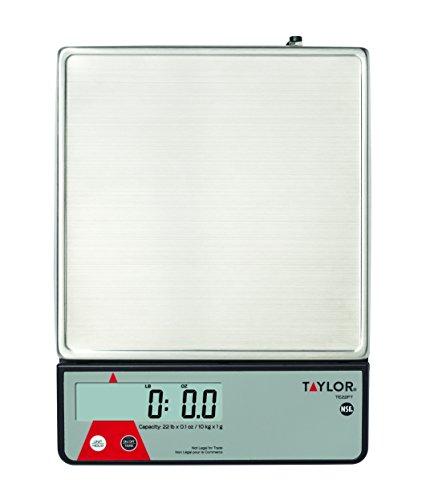 Taylor Precision Portion Scale Calibration Feature
