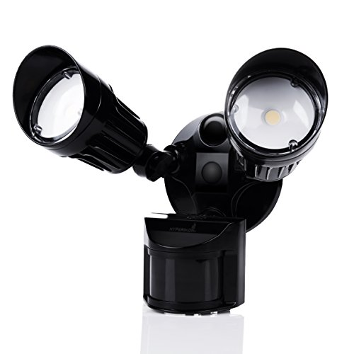 Black Led Security Light