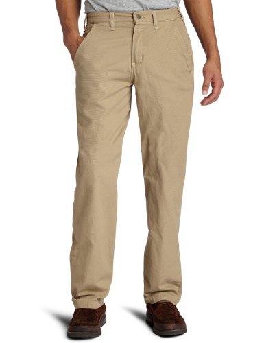 Carhartt Men's Canvas Khaki Relaxed Fit Straight Leg Pant