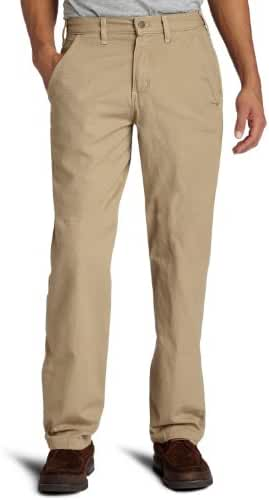 Carhartt Men's Canvas Khaki Relaxed Fit Straight Leg Pant