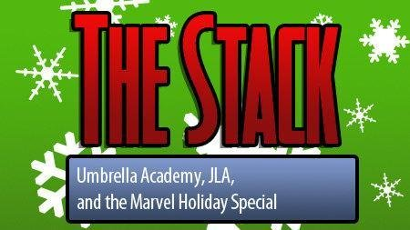 Comic Book Reviews: Marvel Holiday Special Justice League of America 16 and The Umbrella Academy