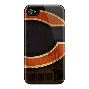 Protective Hard Cell-phone Case For Iphone 6plus (ruS12298WiFT) Customized HD Chicago Bears Skin