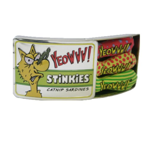 - Yeowww Tin of Stinkies, 3 in a Sardine Tin, Multicolor, 1Pack