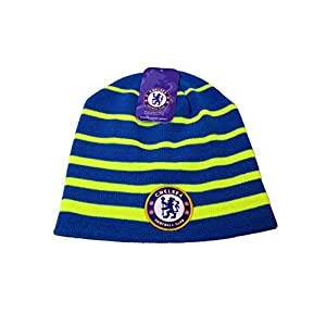 RHINOXGROUP Compatible with Chelsea Official Licensed Product Soccer Beanie-004 Blue