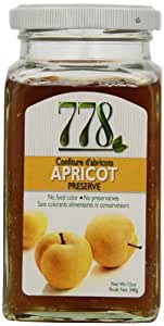 778 Apricot Preserves, Passover, 12-Ounce (Pack of 4)