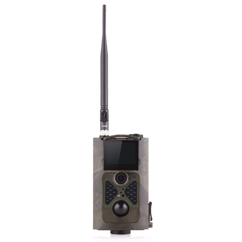 3G 16MP HD lleno Trailcamera HC-550 G 48 LED Negro desencadenar 0, 5 seg cámara de vigilancia cámara trampa Caza Ángulo de visión 120° Soporta 3G / 2G GSM / MMC / SMTP / SMS Suntek HC-550G