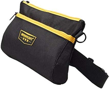 ウエストバッグ ポケット ワークポーチ 職人仕様 腰ベルト付き 防水性 作業用 実用