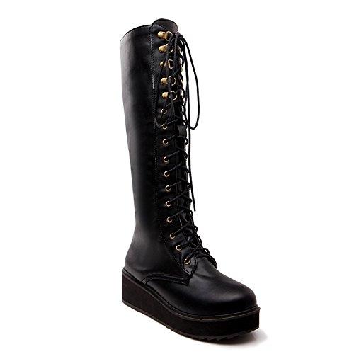 1to9mns02118 - Sandales Compensées Pour Femmes, Noir (noir), 35 Eu