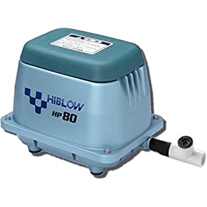 Bracys A-1 Septic HiBlow HP80 Septic Linear Air Pump (Longest Lasting Pump on The Market) w/Back Pressure Safety Valve