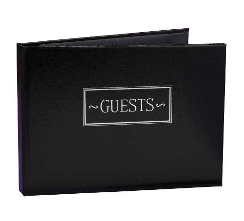 Black Small Guest Book - 375165
