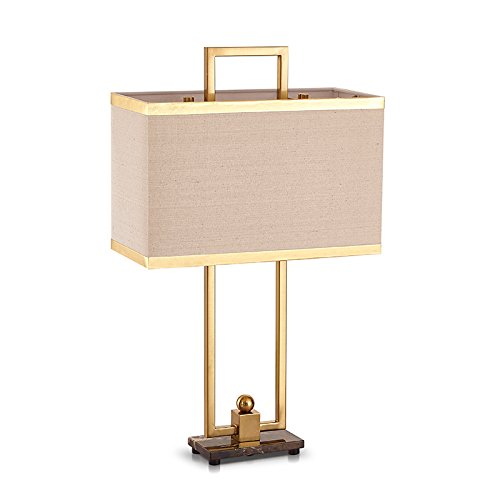 bronze color table light hardware door type wrought iron table lamp luxury pattern model room art living room desk lamps ZA812 lo11 by WINZSC
