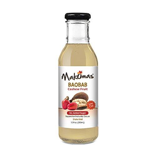 MAKOMAS Baobab Cashew Fruit Drink, 12 Ounce