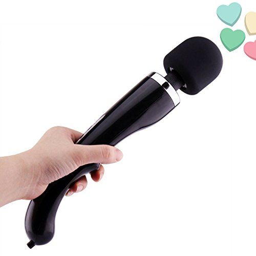 Massager Wand Pro 2018 Gift New Curved Design Upgraded Powerful Vibrations Whisper Quiet Homedics Therapy Portable Cordless Handheld Rechargeable