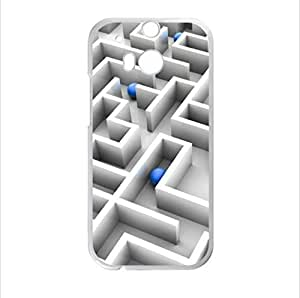 Best seller Personalized Design Case - Maze HTC One M8 (Laser Technology) Case, Cell Phone Cover