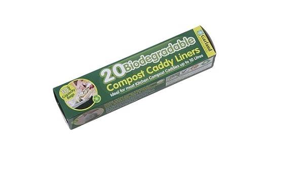 Biodegradable 10lt base aromática para cubo para Compost (20 por ...