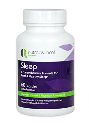 Natural Sleep Aid - Created by Medical Doctors for Restful, Healthy Sleep and Insomnia Relief (60 Capsules) by Nutraceutical Therapies