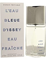 L'eau Bleue D'issey Pour Homme By Issey Miyake For Men Eau Fraiche Edt Spray 2.5 Oz