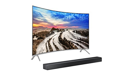 UN65MU8500 Curved 65-Inch 4K UHD  TV & Sound+  7 Series Soundbar Bundle