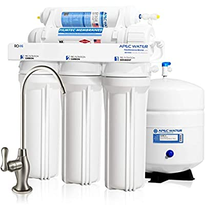 APEC Top Tier Supreme High Flow Ultra Safe Reverse Osmosis Drinking Water Filter System (ULTIMATE RO-Hi)