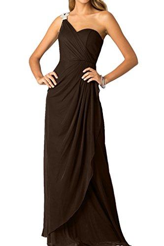 Strass Ballkleid Promkleid Schokolade Abendkleid Festkleid Schlter mit Ivydressing Ein Damen qxBwHqTI